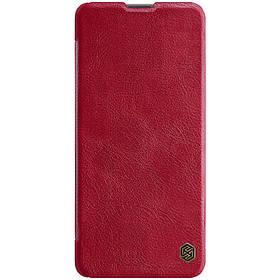 Кожаный чехол (книжка) Nillkin Qin Series для Samsung Galaxy M51