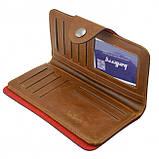 Мужское портмоне Baellerry Genuine Leather COK10. Цвет: бежевый, фото 2