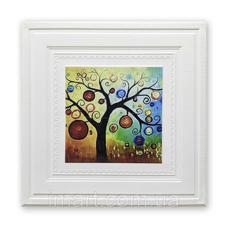 """Самоклеюча декоративна картина """"Дерево"""" 700*700*7мм"""