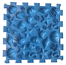 Ортопедичний масажний килимок Пазли Мікс Морські 1 елемент