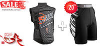 Защита для спины и защитные шорты Rossignol (акция!), фото 1