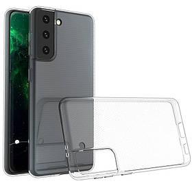 TPU чехол Epic Transparent 1,0 mm для Samsung Galaxy S21+