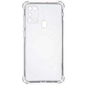 TPU чехол GETMAN Ease logo кути посилені для Samsung Galaxy M31