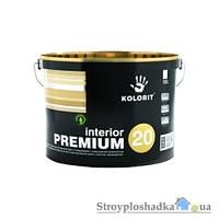 Краска полуматовая Interior Premium 20