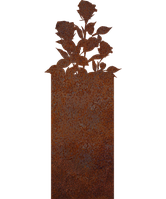 Надгробие памятник на кладбище из металла 50*103см*8мм, памятник Природа 01, фото 1