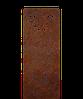 Надгробие памятник на кладбище из металла 50*103см*8мм, памятник Природа 02