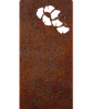 Надгробие из металла Природа 4 Сталь Сorten 6 мм