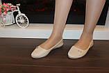 Балетки туфлі жіночі бежеві Т1231, фото 7