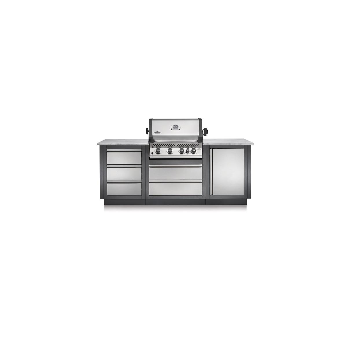 Конфигурация летней модульной кухни Napoleon Oasis-100