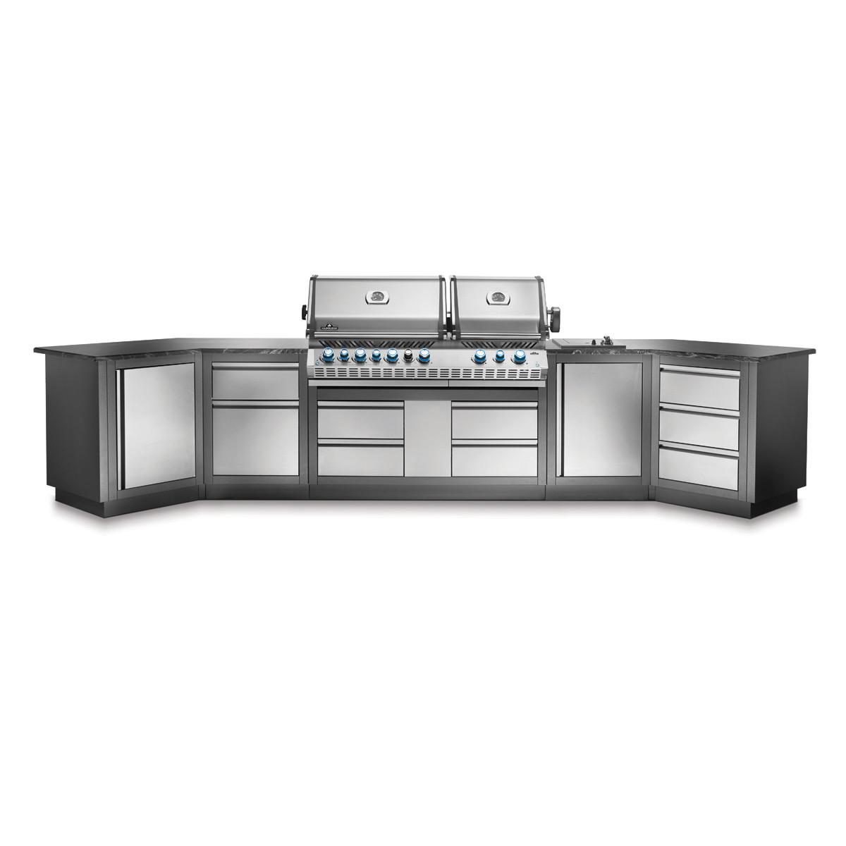 Конфігурація річної модульної кухні Napoleon Oasis-400