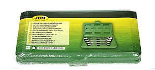 Набор ключей шарнирных Torx (4 шт) (Е6хЕ8/Е10хЕ12/Е14хЕ18/Е20хЕ24) JBM (Испания)50622