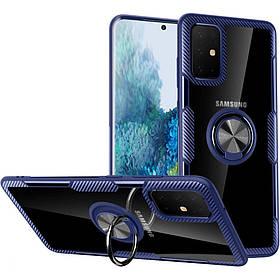 TPU+PC чехол Deen CrystalRing for Magnet (opp) для Samsung Galaxy A51