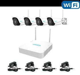 Беспроводной комплект видеонаблюдения Uniarch KIT/104LS-W