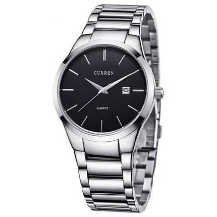 Curren 8106 Silver-Black, фото 2