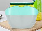 Диспенсер для моющего средства SOAP PUMP SPONGE CADDY дозатор настольный органайзер средства для мытья посуды, фото 4