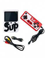 Портативная приставка SUP Game box 400 игр Dendy с джойстиком