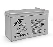 Аккумуляторная батарея AGM RITAR RT1275, 12V 7.5Ah  (151х65х100 мм) Q10