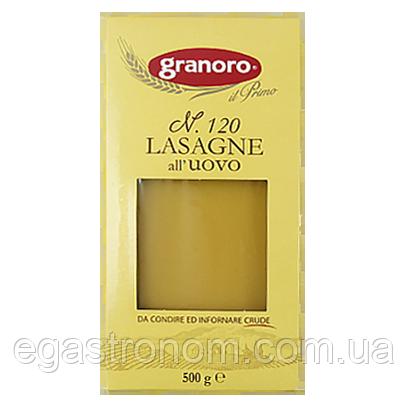 Лазанья Граноро Granoro №120 500g 12шт/ящ (Код : 00-00005196)