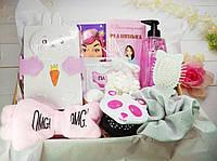 Набор для девочки, подарок дочке, подарунок, набор подарочный, ланч бокс, подарок на день рождения, на 8 марта