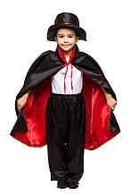 Дитячий карнавальний маскарадний костюм Фокусник Вампір Дракула розмір: 30, 32, 34