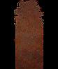 Надгробок з металу Природа 10 Сталь Сorten 6 мм
