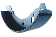 Колодка тормозная задняя с накл. ГАЗ 3302 (2 шт.) (пр-во ГАЗ)
