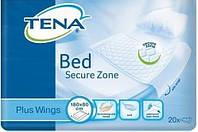 Одноразовые пеленки впитывающие Tena Bed Plus Wings Secure Zone 80х180 20шт