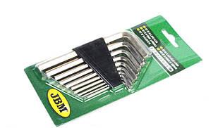 Набор ключей шарнирных Torx (4 шт) (Е6хЕ8/Е10хЕ12/Е14хЕ18/Е20хЕ24) JBM (Испания)50571