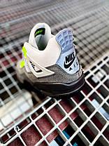 """Баскетбольные кроссовки Air Jordan 4 Mid SE """"Neon"""", фото 2"""