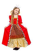 Дитячий карнавальний маскарадний костюм Королева Принцеса зростання: 116-140 см