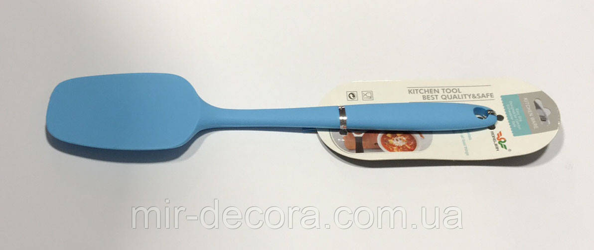 Лопатка-ложка силіконова 27 см