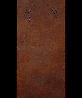 Надгробие памятник на кладбище из металла 50*103см*8мм, памятник Природа 15, фото 1
