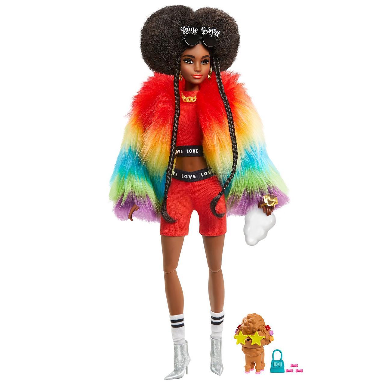 Кукла Барби Экстра афроамериканка Barbie Extra GVR04