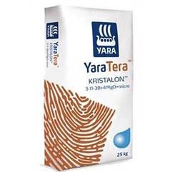 Добриво Яра Кристалон 3-11-38 коричневий / Yara KRISTALON 3-11-38 BROWN (25 кг)