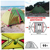 Палатка Tramp Lite Tourist 2 Oliva (TLT-004.06) двухместная