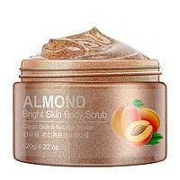 Скраб для тіла з абрикосом і мигдалем Bioaqua Almond Bright Skin Body Scrub (120г)