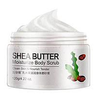Скраб для тіла з маслом Ши Bioaqua Shea Butter Moisturize Body Scrub (120г)