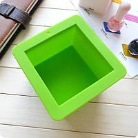 Форма силіконова для випічки Куб глибокий, фото 1