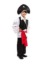 Детский карнавальный маскарадный костюм пират мальчик размер: 110/116, 118/124,126/134