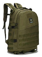 Тактический штурмовой военный рюкзак U.S. Army 45 литров Черный | Американский военный рюкзак Олива