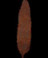 Надгробок з металу Пір'я 1