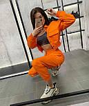 Стильний костюм двійка жіночий прогулянковий з джинса, фото 3