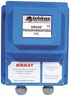 Трансформатор IP67 220|12V 600Вт для  бассейна фонтана герметичный  понижающий для светильника/лампочек , алюм