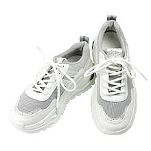 Кроссовки женские для ходьбы Artin р.36-41 серые