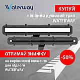 Душовий канал Waterway Stream 800 WSB800001N1, фото 4