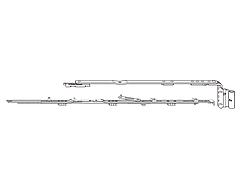 Ножницы 1E Roto 801-1000 (правые)