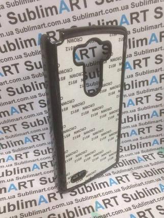 Чехол для 2D сублимации пластиковый на LG G3 черный, фото 2