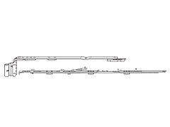 Ножницы 1E Roto 801-1000 (левые)