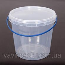 Ведро пластиковое пищевое 1 л