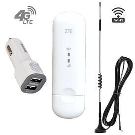 4G WI-FI комплект в авто (4G модем+АЗУ+антенна 7 Дб)